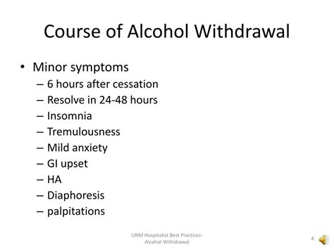 PPT - Alcohol Withdrawal PowerPoint Presentation, free