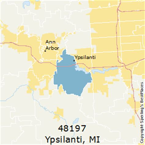 Best Places to Live in Ypsilanti (zip 48197), Michigan