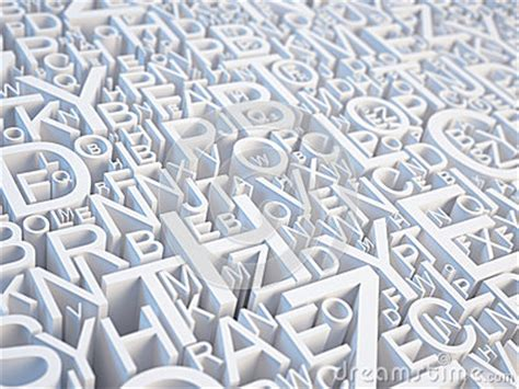 Letters Background Royalty Free Stock Photography - Image