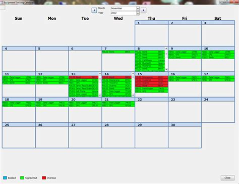 performance - Trying to Make an Efficient Calendar in