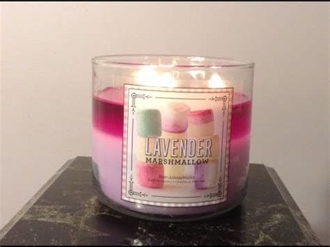 Mini Review Of Bath and Body Works Lavender Marshmallow