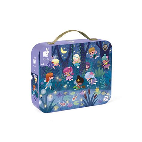 Fairies & Water Lilies - 36 Pieces