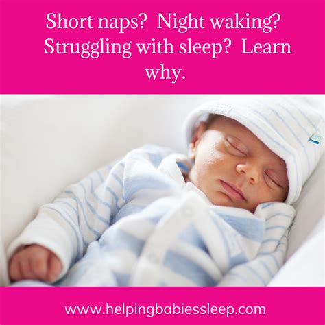 Short naps? Night waking? Struggling with sleep? Learn why