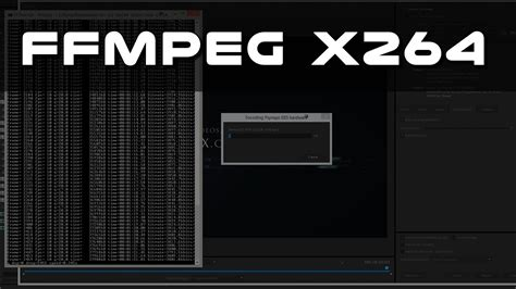 x264 Presets and FFMPEG for Windows - Psynaptic Media by