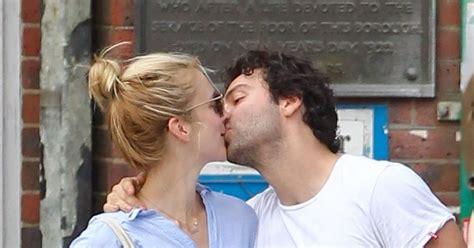Poldark's Aidan Turner can't hide affection for girlfriend