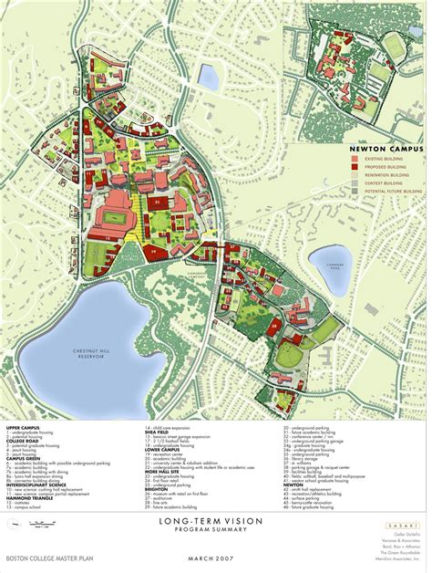 Boston College Campus Map | Map Of The World