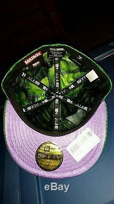 EXTREMELY RARE Incredible Hulk UK New Era Fitted Hat