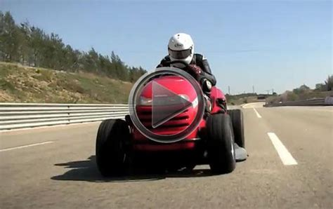 This Is The World Fastest Lawnmower