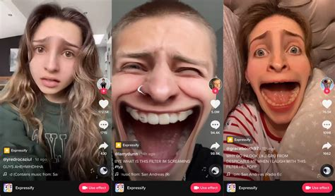 TikTok: How to use the Expressify Filter – viral effect