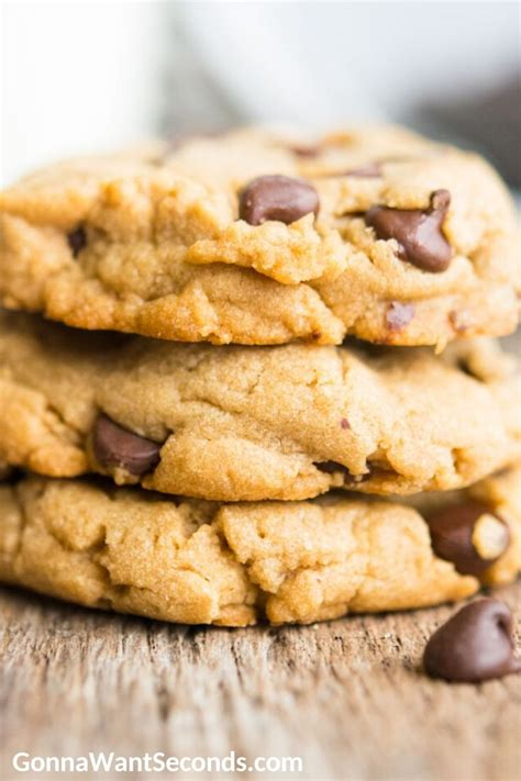 Peanut Butter Chocolate Chip Cookies (Easy!) - Gonna Want