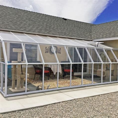 This home had just received a new sun room