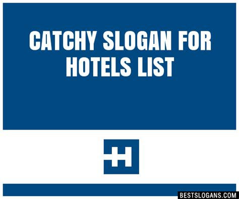 30+ Catchy For Hotels Slogans List, Taglines, Phrases