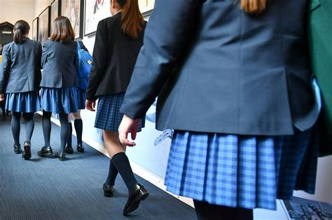 Third of girls sexually harassed while wearing school