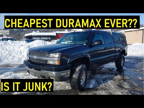 Teal-Colored Silverado HD For Under $10K Hides Awesome
