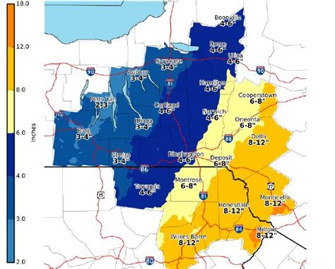 Winter storm watch issued for parts of Central NY; 7