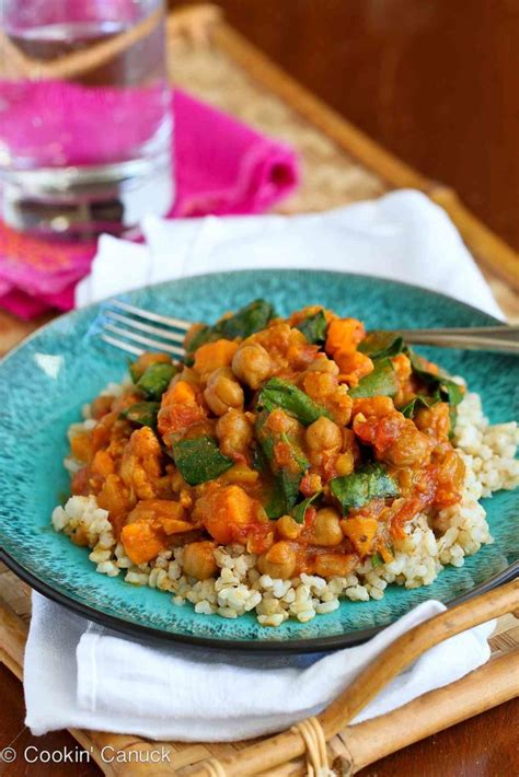 Slow Cooker Vegetable Curry Recipe with Sweet Potato