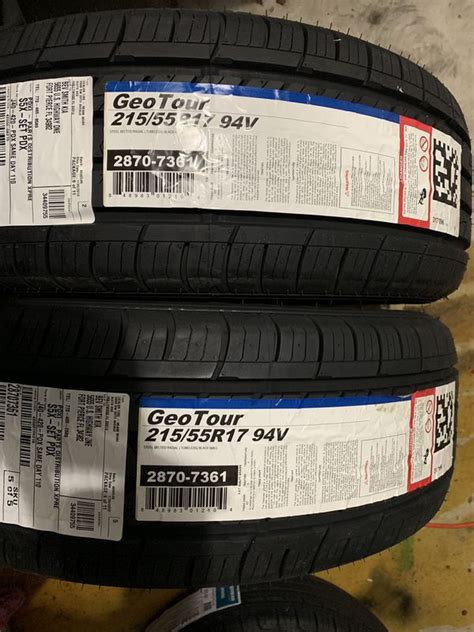 215/55/17 GEO TOUR TIRES for Sale in Port St